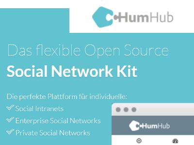 Das flexible Open Source HumHub